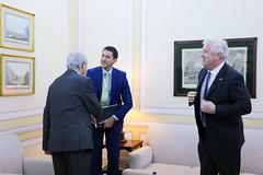 Rui Rio recebeu o Embaixador dos EUA