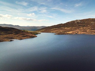 Ecosse 2018 - Vue aérienne du Loch Tarff