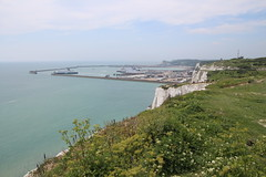 Port of Dover (timothyhart) Tags: saxonshoreway kent uk england longdistancewalk walk walking nationaltrail june 2018 sandwich deal walmer stmargaretsbay dover portofdover aycliffe samphire folkestone battleofbritain memorial