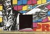 Mural (pggambill2) Tags: mural colorful urban pointing door film