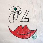 Drawing on wall by Prolo [Lyon, France] thumbnail