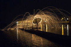 West Kirby Wire Wool Spinning Explored 12/6/2018 (David Chennell - DavidC.Photography) Tags: wirewoolspinning wirral nightphotography merseyside lightpainting
