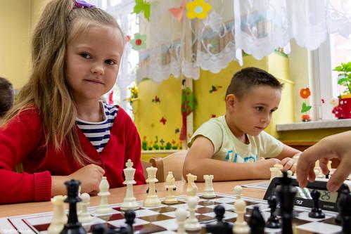 V Turniej Szachowy o Mistrzostwo Przedszkola Miejskiego Nr 1-4