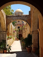 Agia Triadia (roberto_il_pisano) Tags: church monastery greece chania lacanea agiatriadia crete ortodox monuments