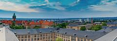 Die Dächer der TU Dresden (JeanM.DD) Tags: clouds deutschland dresden elbflorenz gebäude germany himmel häuser land landschaft orte sachsen saxony wolken