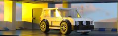 Lego VW Golf MkII (hachiroku24) Tags: lego volkswagen vw golf mkii moc instructions car afol speed champions