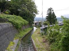 A clean stream (しまむー) Tags: panasonic lumix gx1 g 20mm f17 asph natural train tsugaru free pass 津軽フリーパス