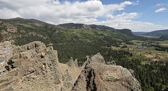 Mineral County Scenic Overlook, view of Treasure Falls (Bill Jacomet) Tags: co colorado travel trip drive 2018 mineral county scenic overlook treasure falls