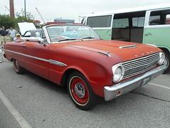 1963 Ford Falcon Futura Convertible (splattergraphics) Tags: 1963 ford falcon futura convertible unrestored carshow wilmoagogo wilmingtonde