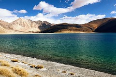 In transition.. (Bodhisotto) Tags: pangong lakes ladakh canon canon80d transition water saltwaterlakes pangongtso ilovephotography iloveladakh