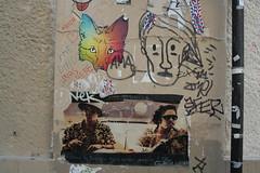 Fear & Loathing poster (Jürgo) Tags: paris parisstreetart streetart france urbanart streetartfrance publicart paste pasteup wheatpaste poster posterart fear loathing
