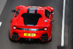 Ferrari, F12tdf, Wan Chai, Hong Kong (Daryl Chapman Photography) Tags: uc122 ferrari f12 f12tdf italian hongkong china sar canon 5d mkiii 70200l pan panning auto autos automobile automobiles car cars carspotting carphotography