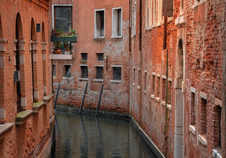 Narrow Canal Bend