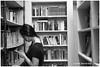 What Are You Reading In A Bookstore? - Chinatown XP7981e (Harris Hui (in search of light)) Tags: harrishui fujixpro2 digitalmirrorlesscamera fuji fujifilm vancouver richmond bc canada vancouverdslrshooter mirrorless fujixambassador xpro2 fujixcamera fujixseries fujix fuji35mmf2 fujiprimelens fixedlens acrosfilmsimulation acros bw blackwhite digitalbw mono monochrome bookstore chinatown reader reading cellphone books library