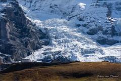 Eigergletscher (Hans van Bockel) Tags: hansvanbockel d7200 nikon sigriswil zwitserland ch kleinescheidegg bergen alpen alps mountains swiss switzerland schweiz fallboden eiger mönch jungfrau gletscher restaurant glacier