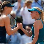 Maria Sharapova, Donna Vekic