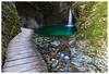 ponticello e cascata kozjak (Giorgio Serodine) Tags: ponticello cascata pozza torrente montagna canon grandangolo erba ombra digiorno movimento acqua sassi forra