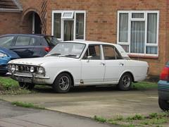 Ford Cortina 1600E (Andrew 2.8i) Tags: carspotting car cars classic classics street spot spotting e 1600 mark mk 2 mk2 1600e cortina ford uk unitedkingdom