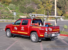 Los Angeles County FD Lifeguards A27 (Seth Granville) Tags: toyota tacoma baywatch beach los angeles county fire department