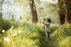 my little Nephew (agirygula) Tags: childhood glasses child boy 4yearsold fun nature greens walking looking womdering