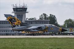 Panavia Tornado ECR - 12 (NickJ 1972) Tags: nato tiger meet poznan 2018 ntm panavia tornado ecr 4657 hardtobehumble aviation