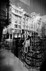 ....mirror & deco.... (christikren) Tags: austria architecture blackwhite christikren decoration glass history new design vienna window white black reflection innenstadt fashion monochrome mirror modern noiretblanc panasonic sw wien street style