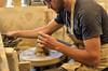 Potery (remiabel1) Tags: poterie tour tournage argile cliousclat pot terre tourdepotier potierautravail poteriedecliousclat terrecuite
