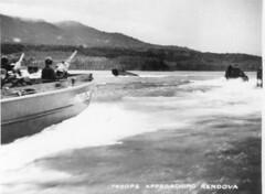 world war two pacific (San Diego Air & Space Museum Archives) Tags: worldwartwo worldwarii wwii ww2 secondworldwar pacifictheater pacifictheaterofoperations pacifictheatre pacifictheatreofoperations pto amphibiouslanding amphibiousassault landingcraft rendova