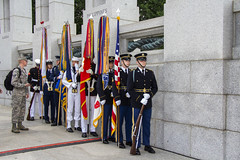 WWII Memorial 6 June 2018  (178) D Day Ceremony (smata2) Tags: washingtondc dc nationscapital wwii nationalworldwartwomemorial monument dday veterans greatestgeneration
