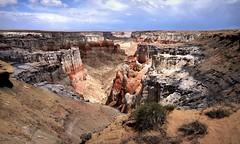 Coal Mine Canyon (peer.heesterbeek) Tags: canyon coalmine arizona usa colors