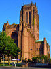 Liverpool Cathedral / (Anglican) (Images George Rex) Tags: 795f69bfbdff4381a92ce79caeab4408 liverpool merseyside uk cathedralchurchoftherisenchrist liverpoolcathedral anglicancathedral stjamessmount architecture church eclesiastical england photobygeorgerex unitedkingdom britain imagesgeorgerex liverpoolanglicancathedral neogothic gothicrevival wooltonsandstone