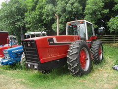1978 - 1981 International Harvester 3588 (occama) Tags: international harvester ih tractor 3588 snoopy anteater old cornwall uk articulated rare collectible farm machinary