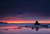 Fear of the Dark (Hector Prada) Tags: seascape sunset clouds sky rocks dark coast sea storm atardecer nubes cielo rocas costa longexposure largaexposicion paísvasco basquecountry atxabiribil