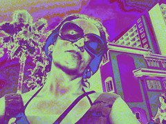 Self Reflection (ColFineArtistMar1) Tags: artist art artistic afternoon buildings colors clearwater distortion day expressive florida inspiration manipulation outdoors photograph textures woman