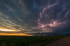 Spaceship Kanorado (mesocyclone70) Tags: stormchase supercell colorado lightning thunderstorm mesocyclone sunset meso sky clouds storm chase stormchaser chaser