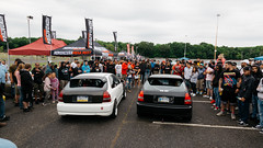 2 step battle (1 of 1) (Tconnors_) Tags: cars camber canon5d canon canonphotography capturethemoment acura honda hre carshow s2000 stanced stancesociety chevy gtr bagriders bags bmw limbo hatch eg ek 2step vtech turbo rims wheels rotiform lexus