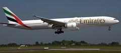 Boeing 777-31H A6-EPN (707-348C) Tags: dublinairport dublin dub airliner jetliner boeing boeing777 b77w b773 triple emiratesairlines uae emirates a6epn eidw ireland passenger 2018