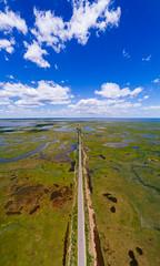 Great Bay Boulevard (reclaimednj) Tags: littleeggharbortownship newjersey unitedstates us greatbayblvdwma greatbayblvd nj panoramic oceancounty aerialphoto