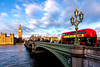 Westminster Bridge (Derwisz) Tags: westminsterbridge westminster housesofparliament palaceofwestminster water river thames bridge bus sky clouds england london unitedkingdom canon canoneos40d city cityscape street