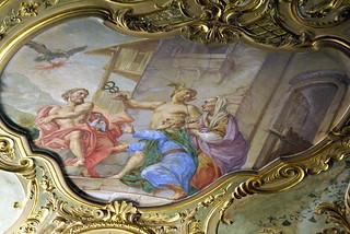 Genova, Piazza De Ferrari 4, Palazzo Doria De Fornari , Fresko (fresco) (2)