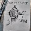 Bar Celta (Fotero) Tags: ifttt instagram dibujo urbanskeching urbanskechers urbansketch fountainpen pluma lamy tinta ink insitu fromthelive bar cervezeria cerveza grifo barcelona