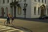 Shadows and lines (radargeek) Tags: charleston sc southcarolina downtown 2017 shadows helmet bicycle crosswalk reflection palmtree august yogamat