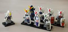 Gundam minifigures (John Erik Taylor) Tags: lego fake minifigure minifigures bootleg counterfeit chinese bricks blocks gundam anime manga toys