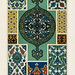 Ottoman pattern from L'ornement Polychrome (1888) by Albert Racinet (1825–1893). Digitally enhanced from our own original 1888 edition.