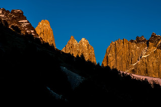 Sunrise at the Camping Chileno, Torres del Paine