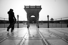 After Morning Prayer (Rk Rao) Tags: bw blackandwhite morninglight jamamasjid mesmerising monochrome architecture fineart fineartphotography art artistic shadowandlight patterns towardslight travel people places incredibleindia beauty naturallight rkrao radhakrishnaraoartist rkclicks newdelhi delhi india