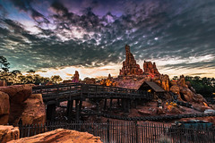Big Thunder Mountain | Frontierland (Pandry 2015) Tags: canon canon6d colors thundermountainrailroad thundermountain disneyphotography florida orlando clouds sunsets themeparks frontierland magickingdom disneyworld disneyparks disney waltdisneyworld wdw
