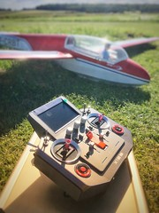 Goodbye Multiplex, Welcome FrSky ! (Laurent CLUZEL) Tags: frsky horus x12s rc glider slope soaring airplane radio control transmitter 24 ghz