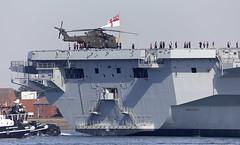 HMS Queen Elizabeth (Bernie Condon) Tags: carrier aircraftcarrier military warship navy rn royalnavy qec queenelizabethclass queenelizabeth hmsqueenelizabeth hermajestysship hms uk british ship boat biglizzie r08 portsmouth harbour port solent hampshire hants