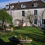 Maison du Bel Air (XVIIIe), musée Montmartre, Butte Montmartre, Paris XVIIIe, France. thumbnail